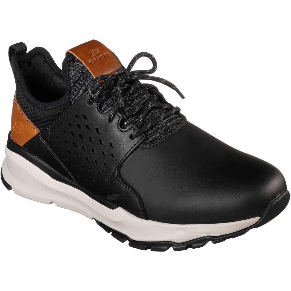 bce12317 Skechers Hemson Streetwear Lace Up Shoes | Casuals | Back To School ...