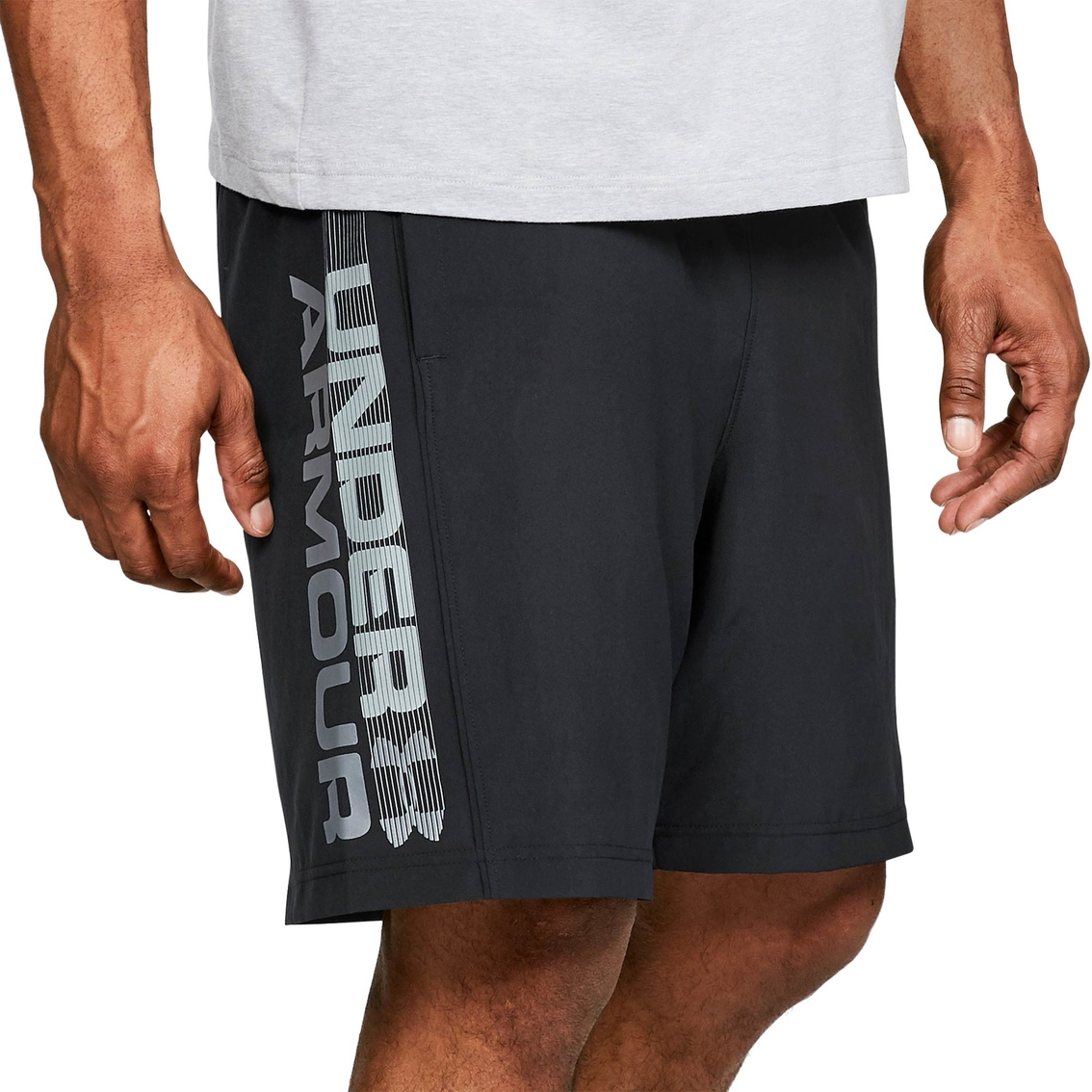 740bff3db2f1 Under Armour Men s Ua Woven Graphic Wordmark Shorts