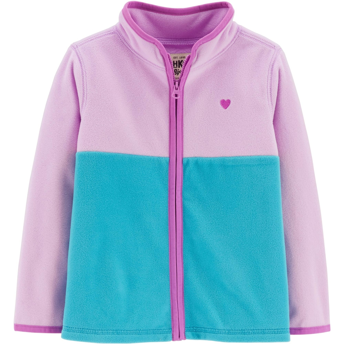 f4d725f42 Oshkosh B gosh Toddler Girls Ruby Colorblock Fleece