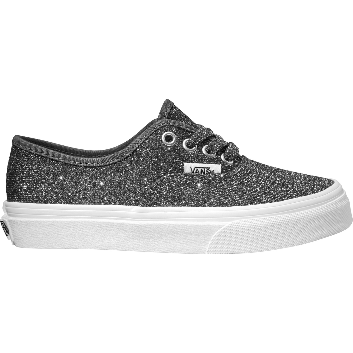 8f9ba3fcb49b Vans Girls Authentic Lurex Glitter Shoes