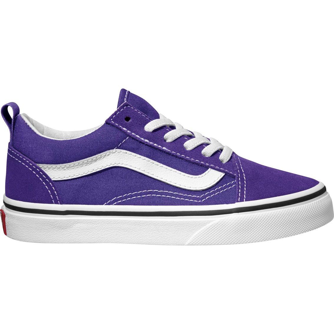 b2d7061619037 Vans Girls Old Skool Elastic Lace Shoes | Casual | Shoes | Shop The ...