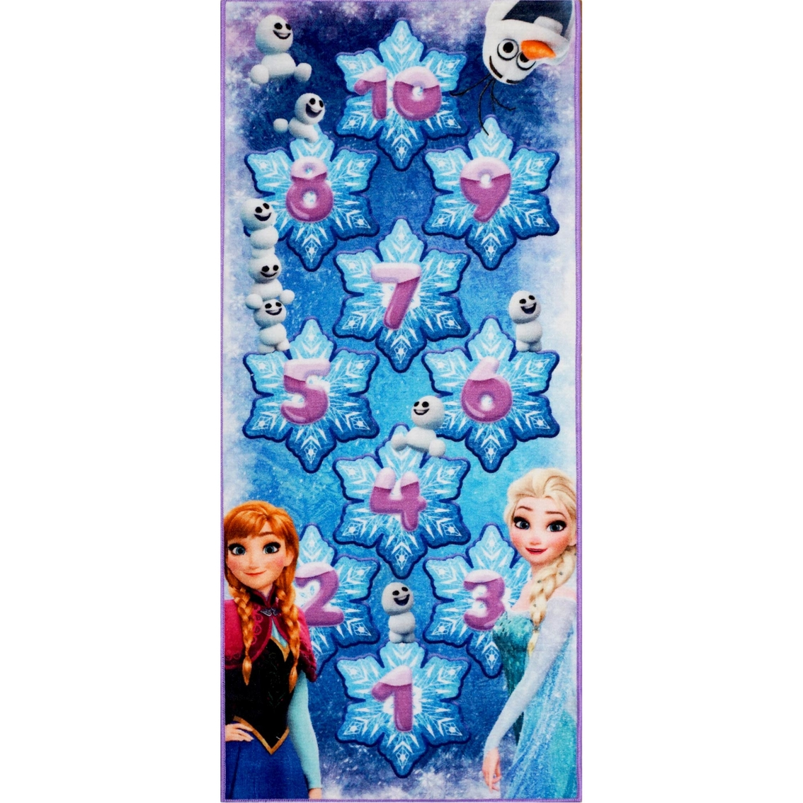 Disney Frozen Hopscotch Game Rug Rugs Home