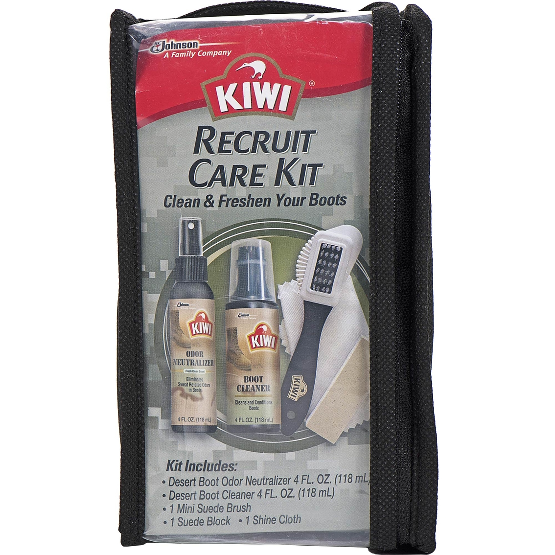 Kiwi Recruit Boot Care Kit Cleaners Polish Shoes Shop The Exchange