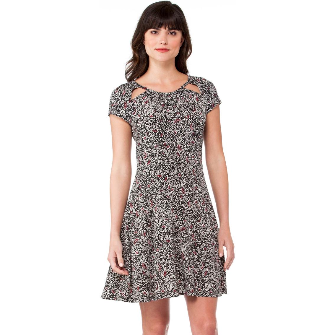 c092c90ef8a Michael Kors Petite Boho Block Print Dress