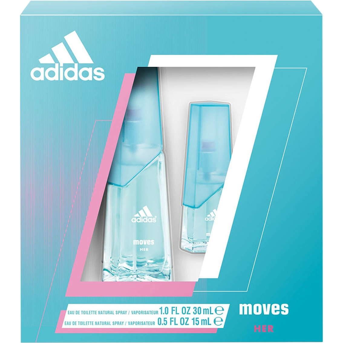 separation shoes 39b91 f93f0 adidas Moves for Her Gift Set 2 Pc.