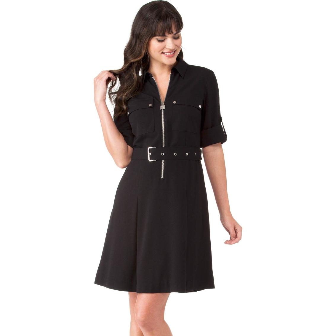 91c046632f2 Michael Kors Lock Zip Shirt Dress