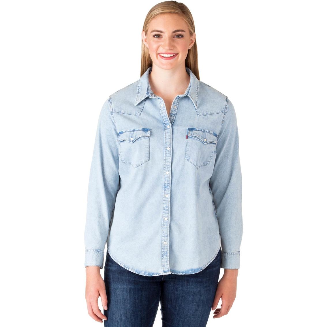 Levi\'s Plus Size Western Shirt | Casual Shirts | Apparel ...