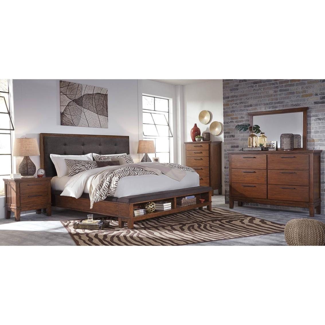 Signature design by ashley ralene 5 pc bedroom set - Bedroom furniture set online shopping ...