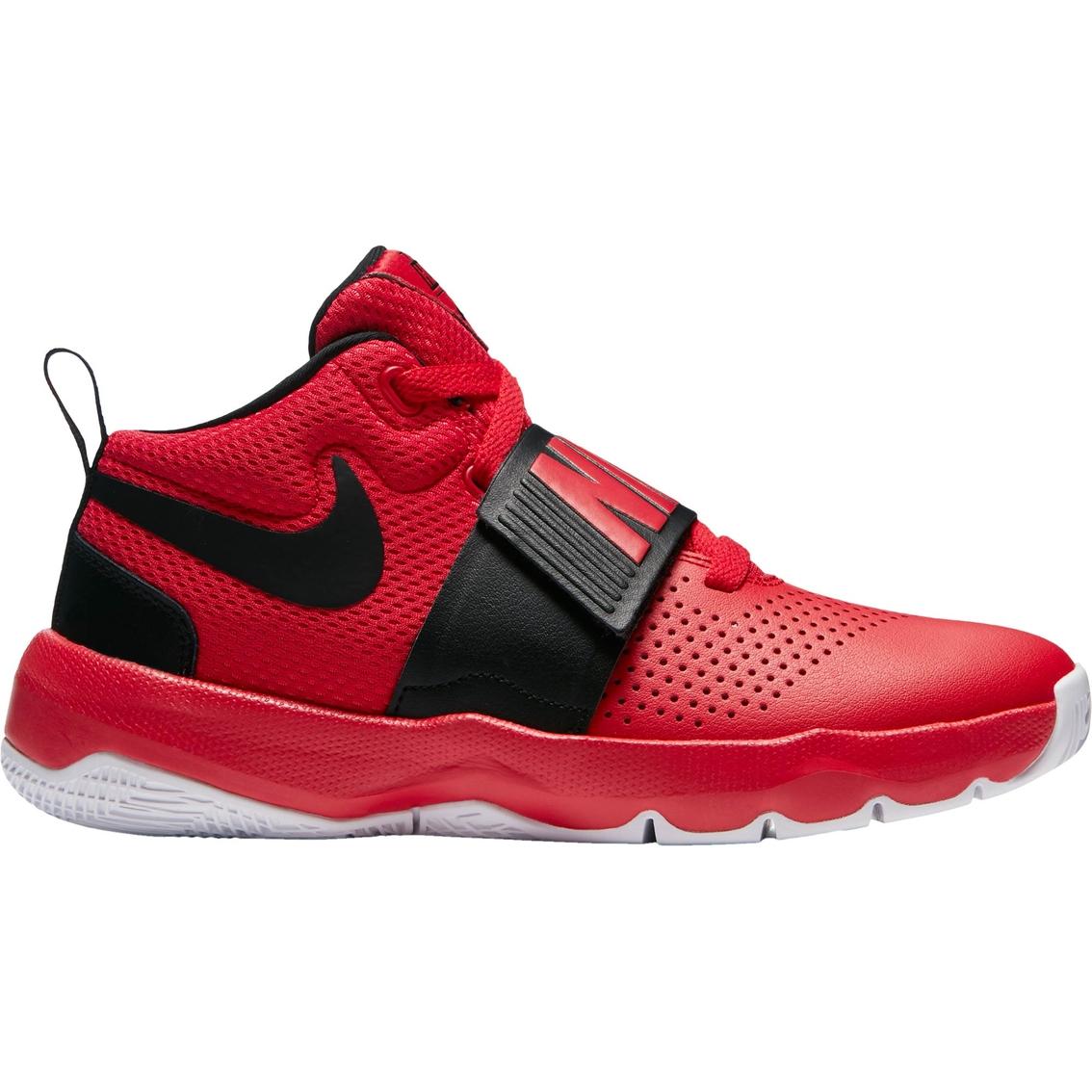 half off 3d6e7 b8cb3 Nike Grade School Boys Team Hustle D8 Basketball Shoes