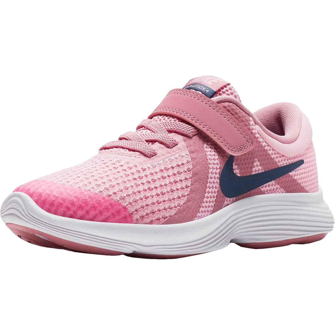 756761188e45 Nike Preschool Girls Revolutions 4 Running Shoes