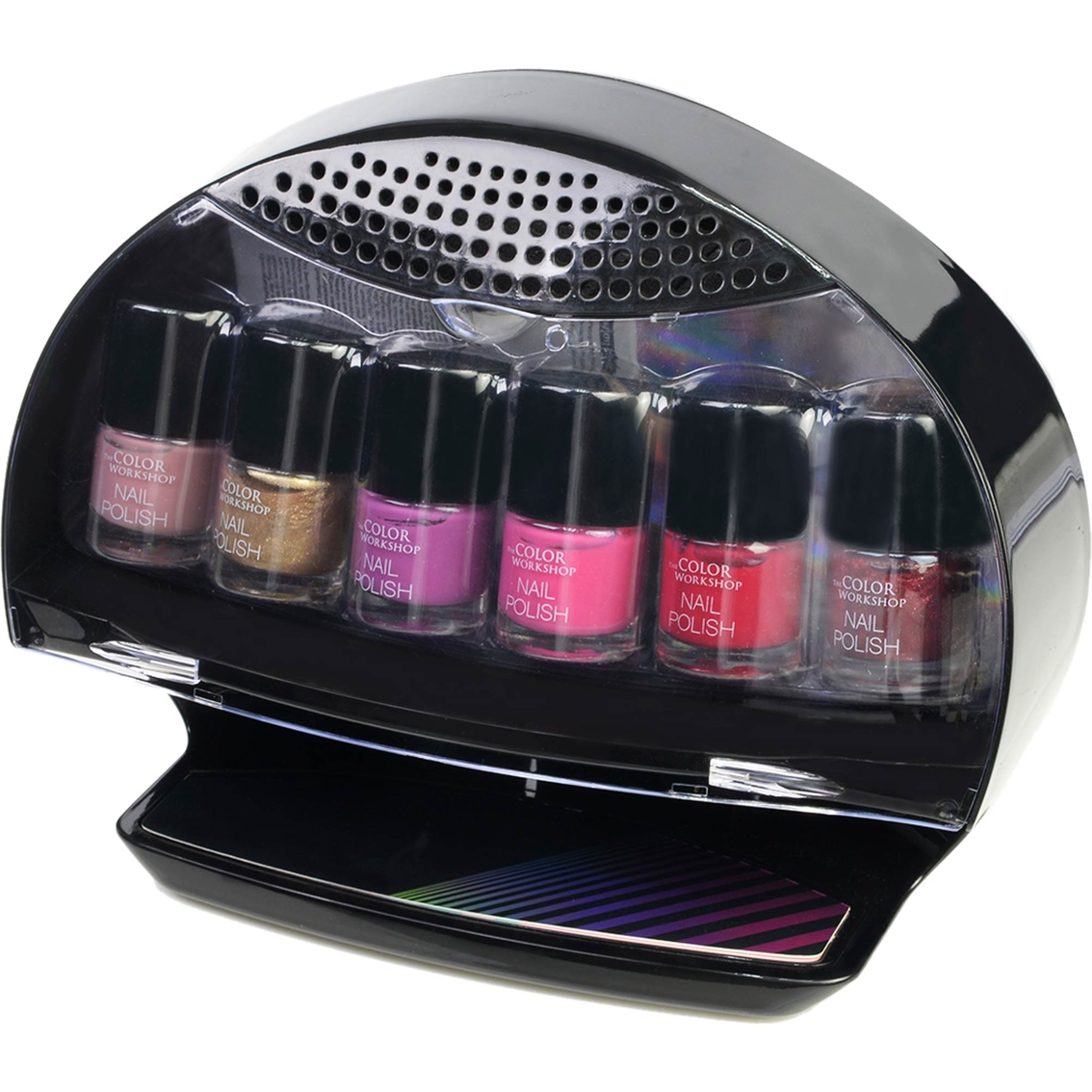 Nail Dryer Product: The Color Workshop Home Salon Nail Dryer 7 Pc. Set