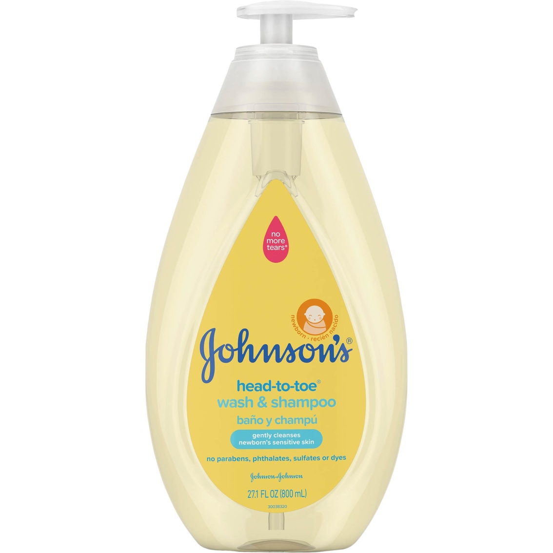 Johnson's Head-To-Toe Gentle Baby Wash & Shampoo