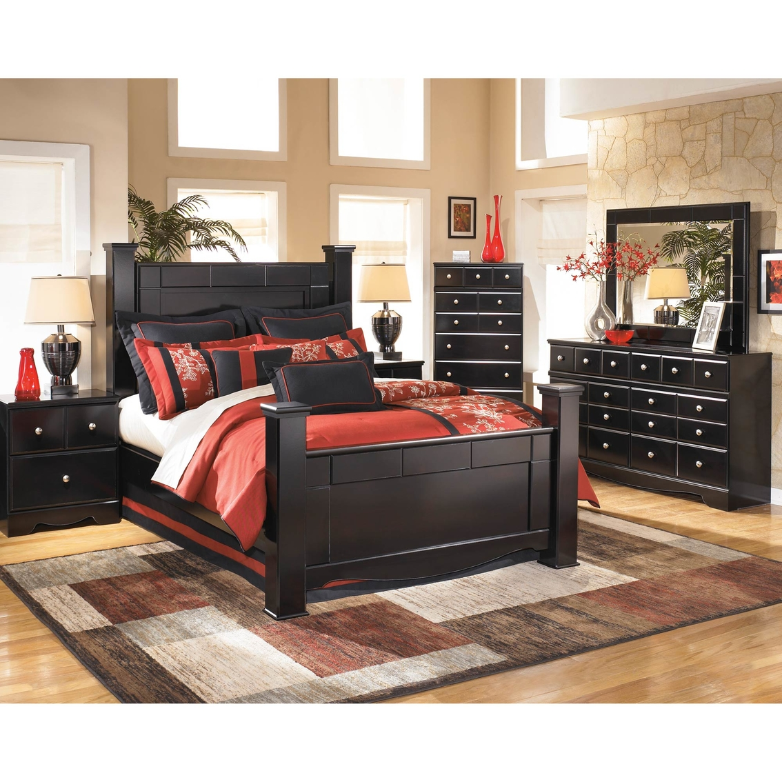Signature Design By Ashley Shay Poster 5 Pc Set Bedroom Sets Furniture Amp Appliances Shop