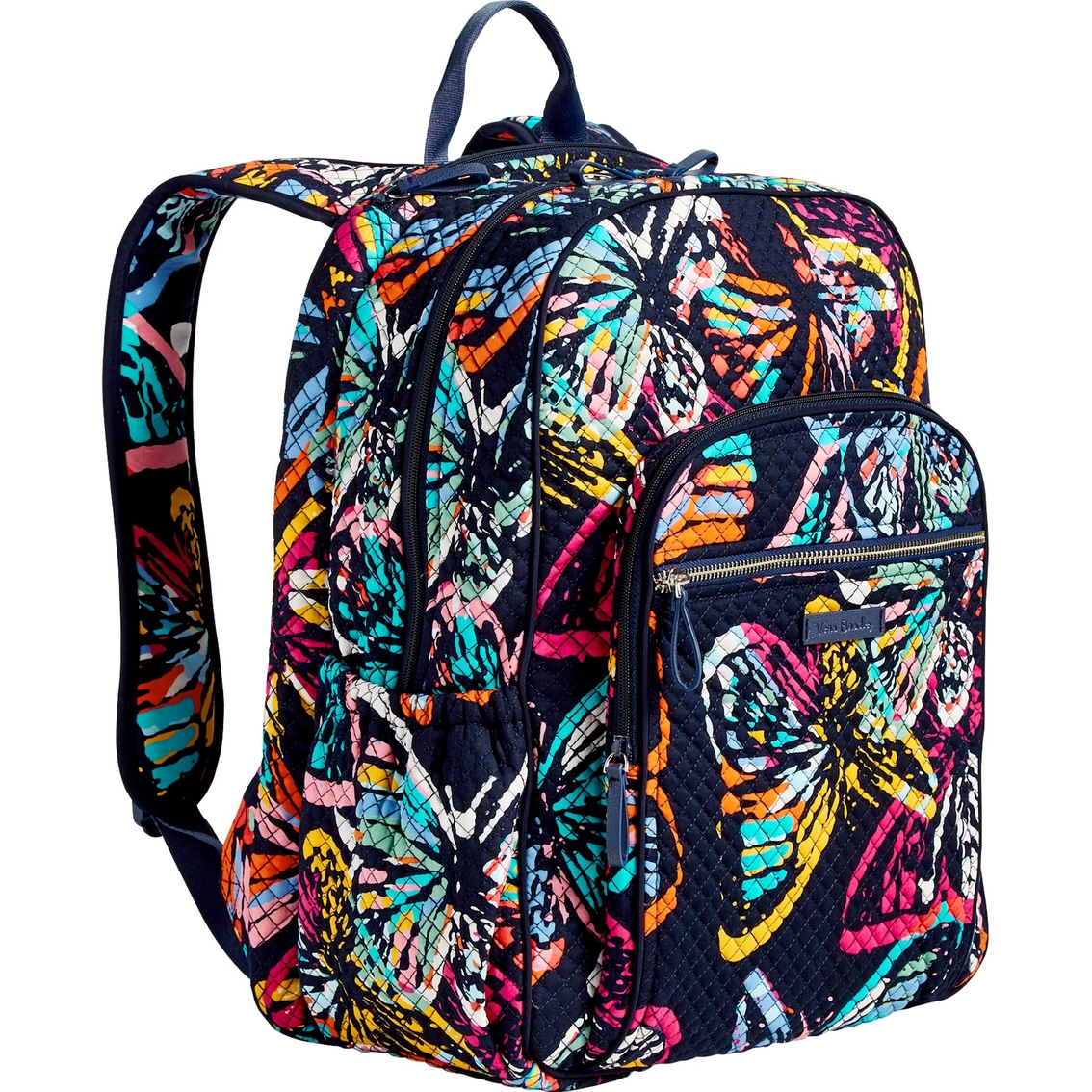 c0f12495603 Vera Bradley Iconic Campus Backpack, Butterfly Flutter   Shop By ...