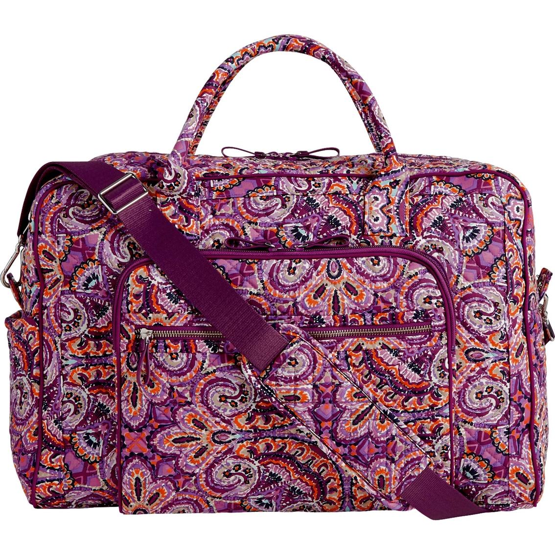 Vera Bradley Iconic Weekender Travel Bag 153a1cfb9fb9c