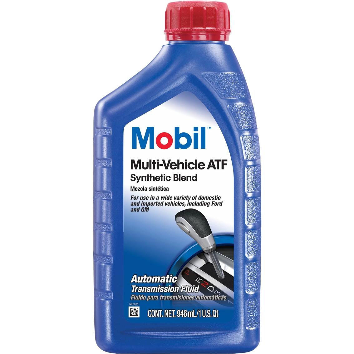 Mobilfluid Automatic Transmission Fluid : Mobil multi vehicle atf automatic transmission fluid qt