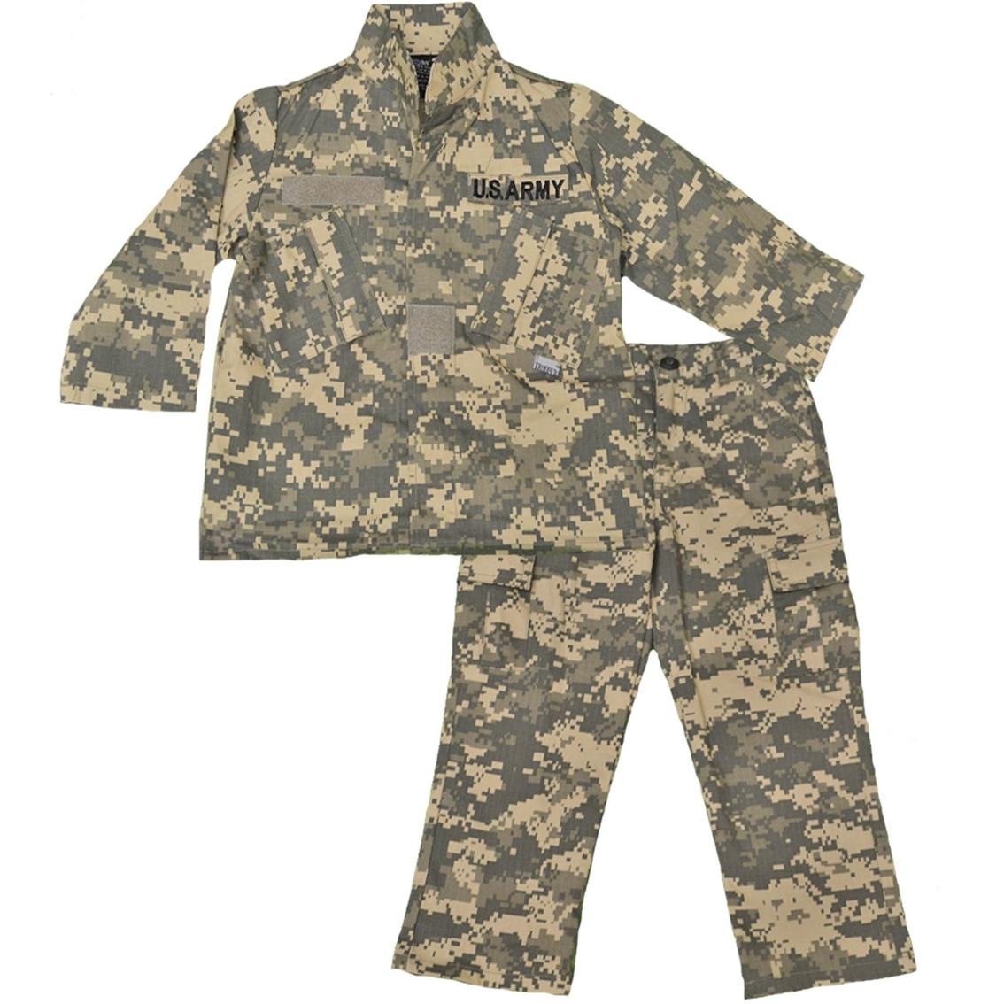 Trooper Clothing Little Boys Boys Acu Army Camouflage