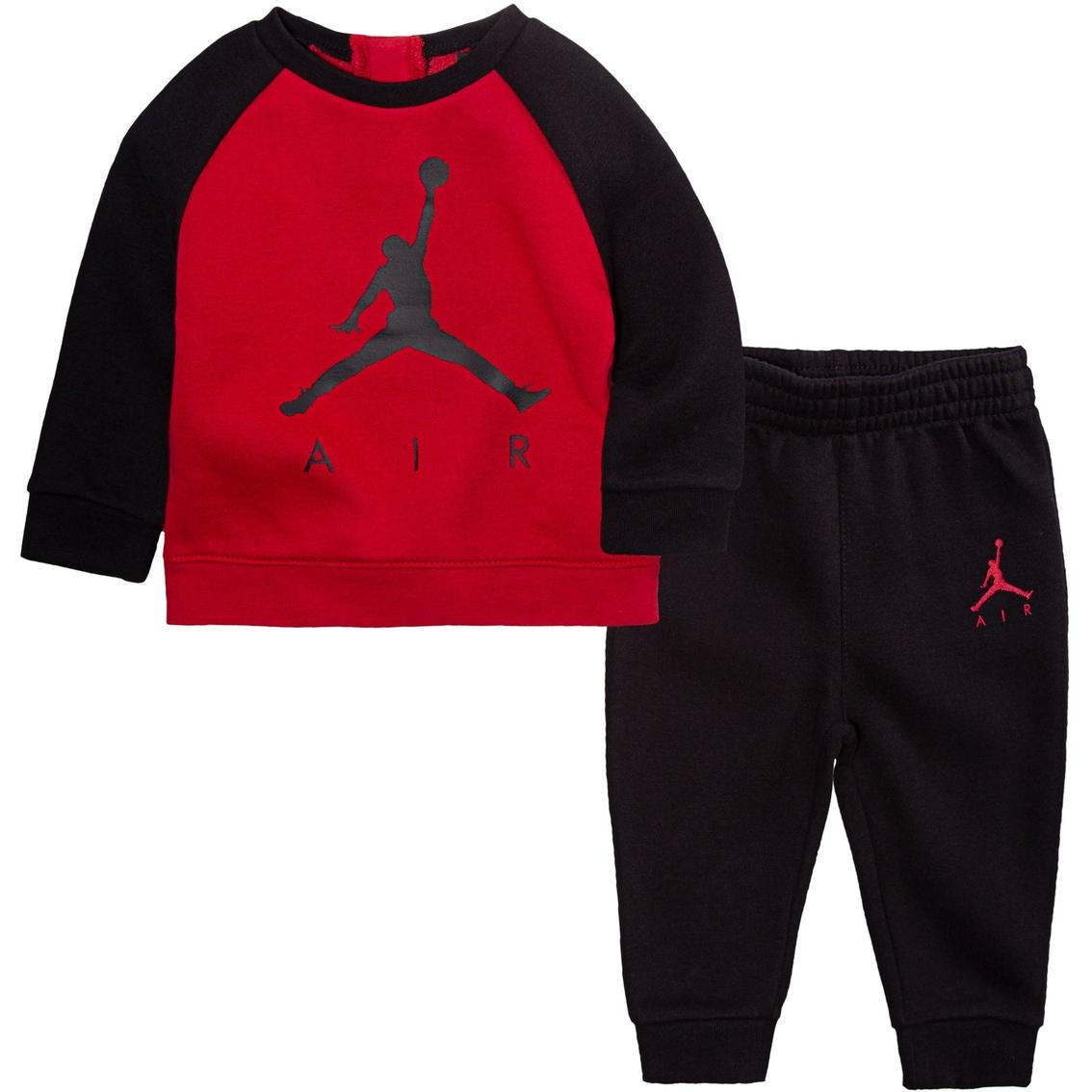 promo code e526f f8bde Jordan Infant Boys Air Jordan Crew Top And Pants Set | Baby ...