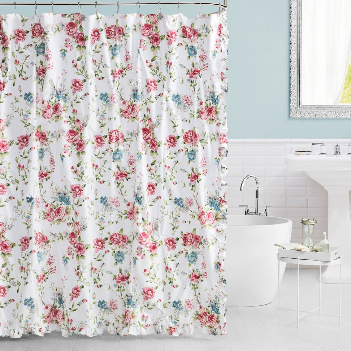 Lush Decor Roslyn Multicolor 72 X In Shower Curtain