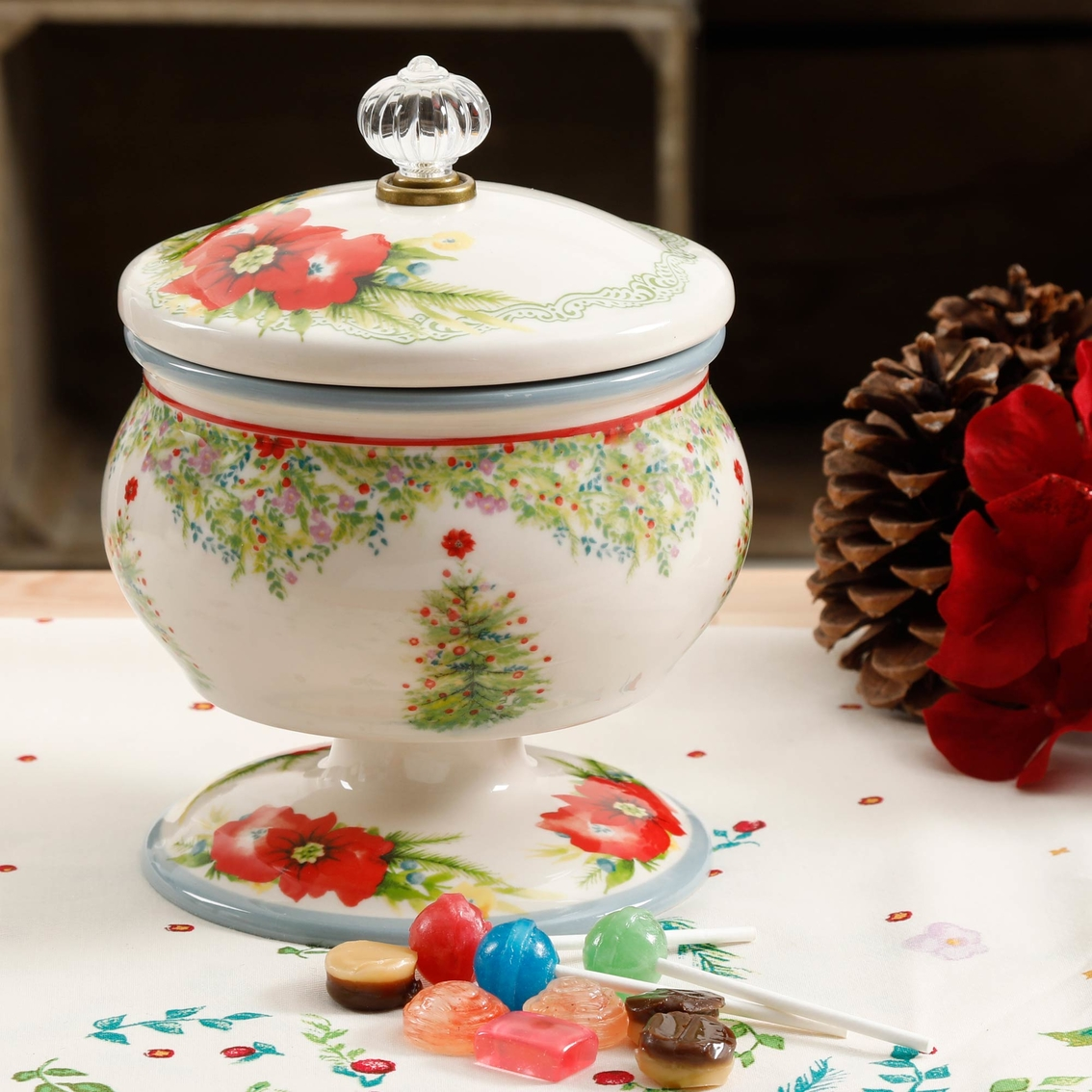 Pioneer Woman Holiday Cheer Candy Dish