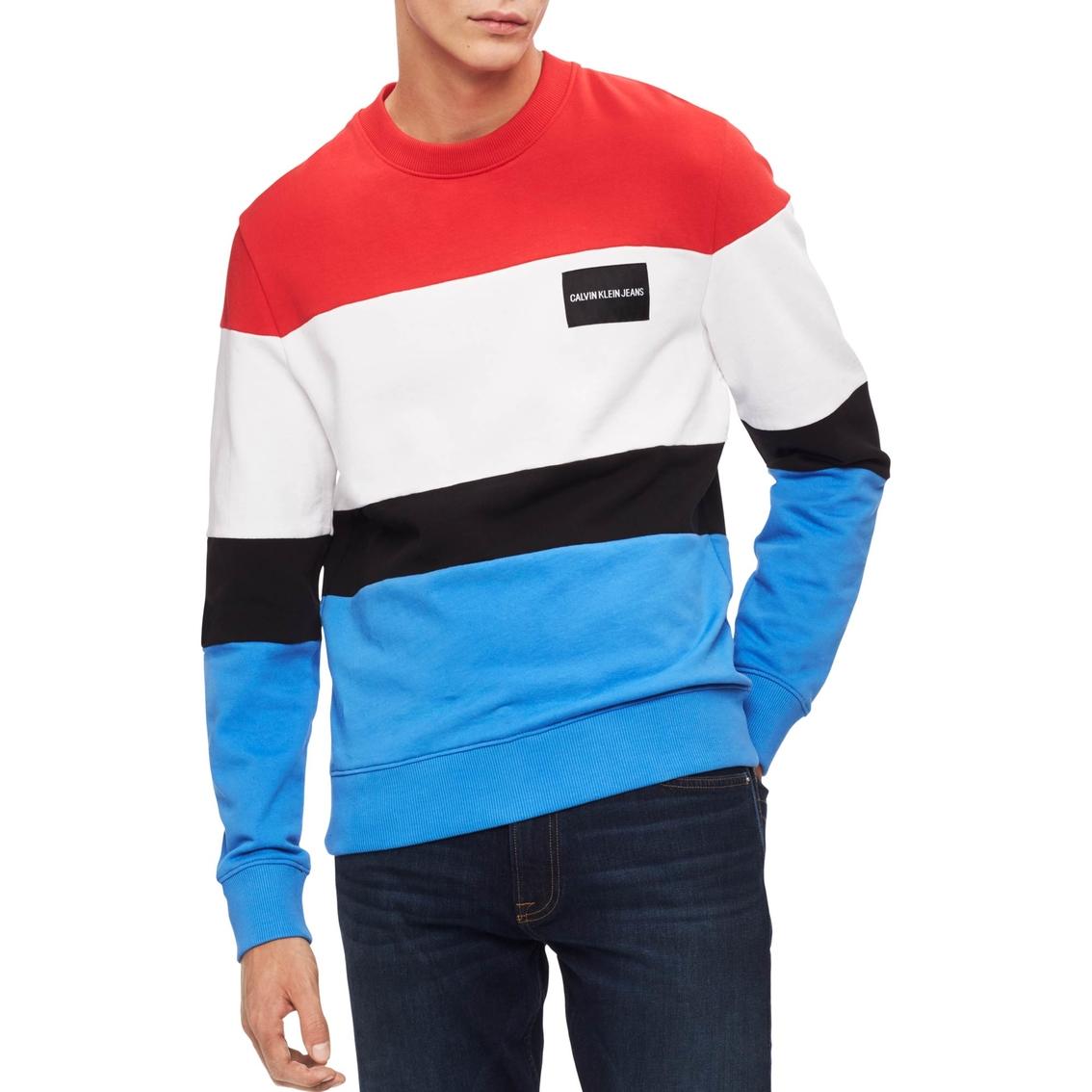 c4d84f0625712 Calvin Klein Jeans Colorblock Sweatshirt
