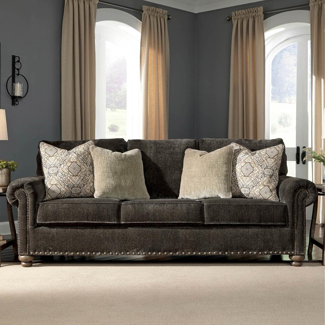 Signature Design By Ashley Stracelen Queen Sofa Sleeper Sofas
