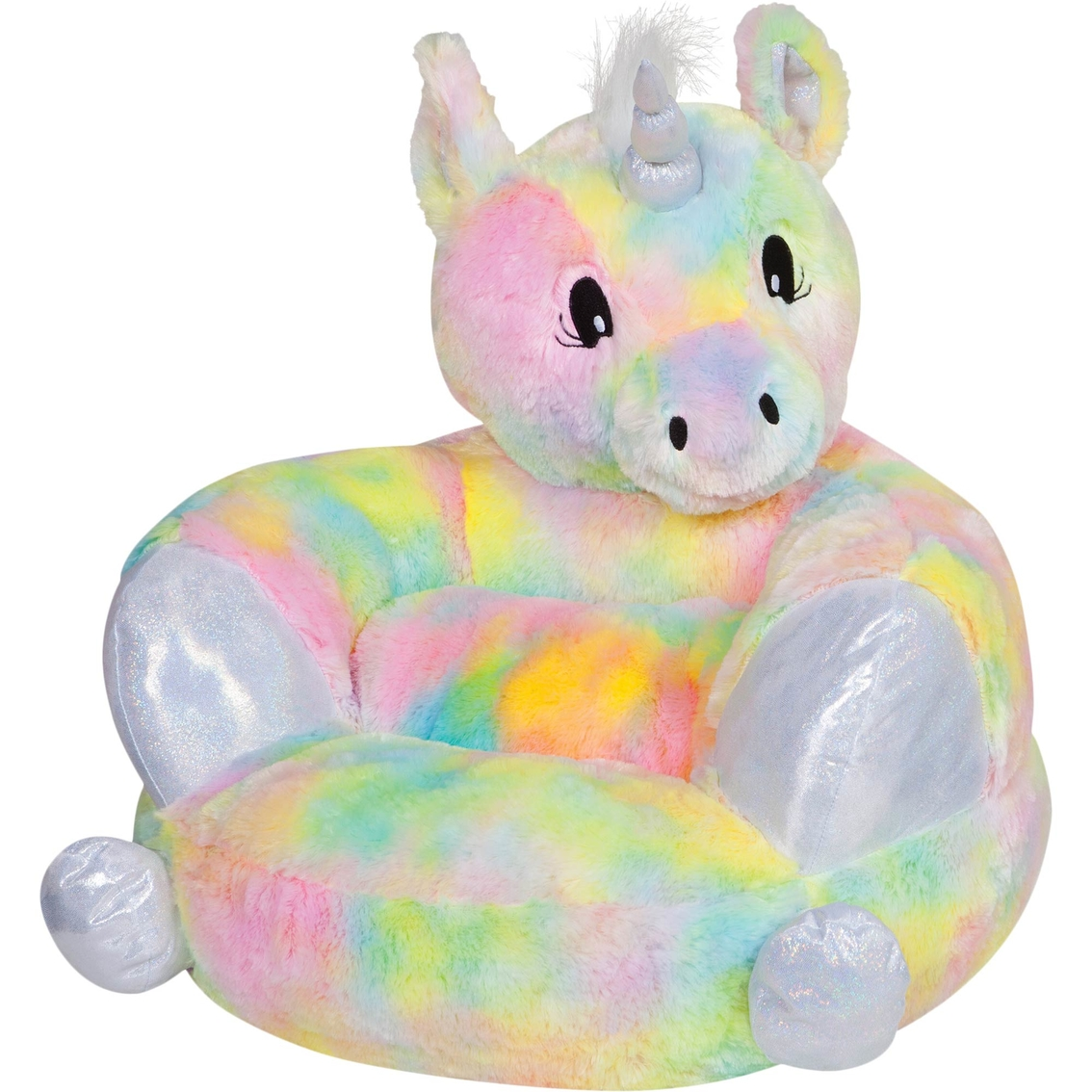 UNICORN collectable plush toddler chair seat cushion nursery bedroom living room