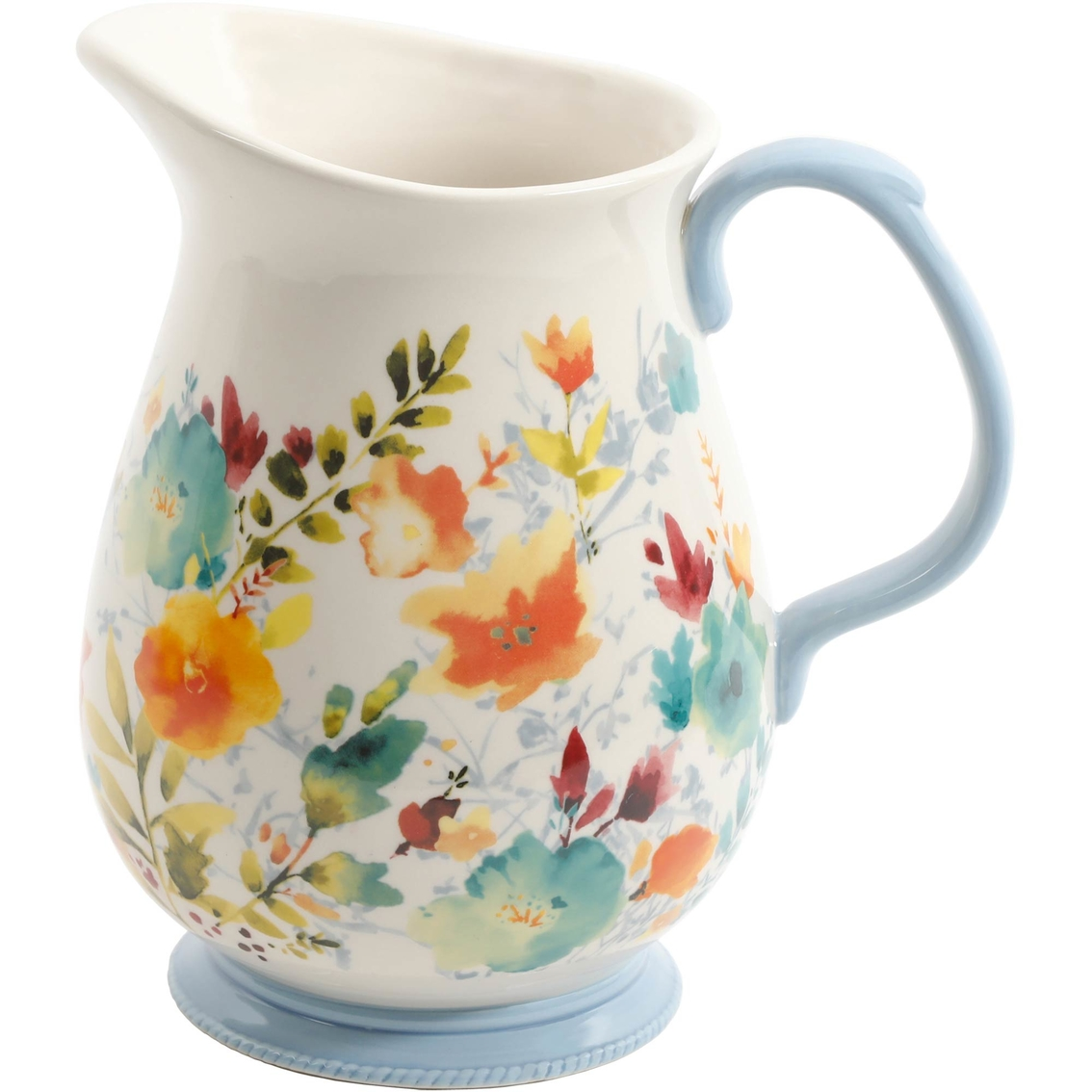 Pioneer Woman Willow Beverage Pitcher 32 Qt Pitchers Home
