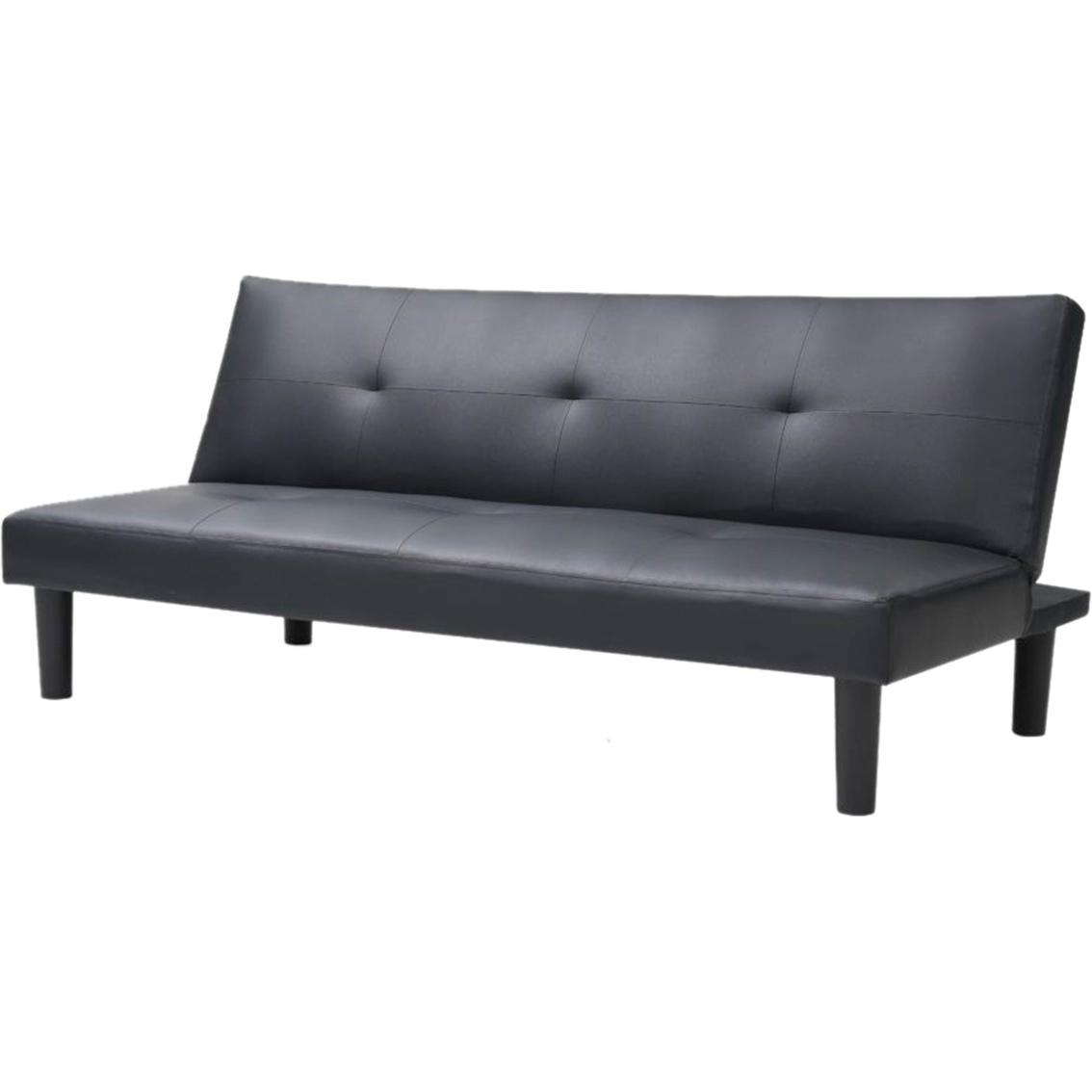 Hodedah Click Clack Sofa Bed Sofas Couches Home Appliances