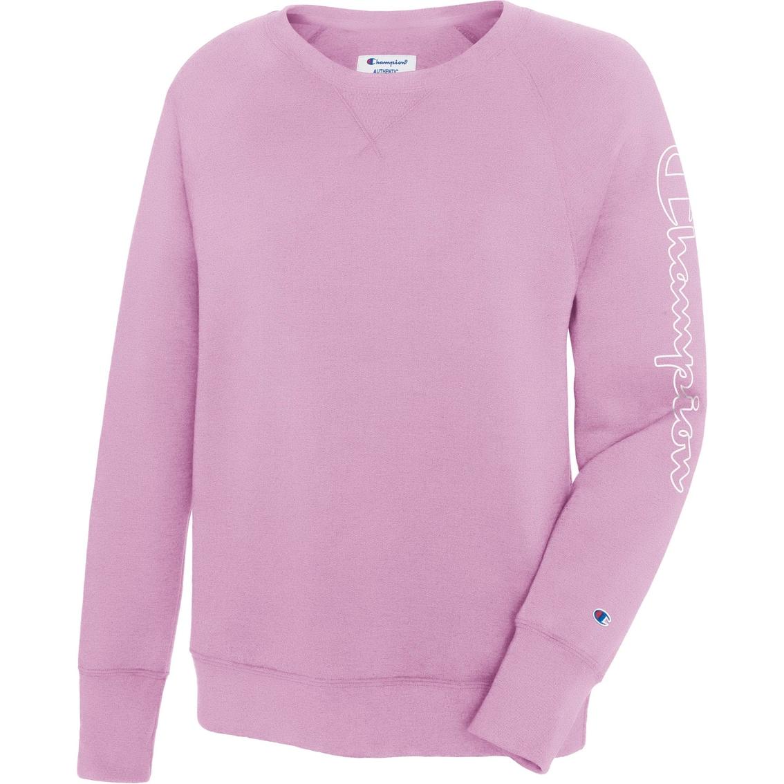 0aa9ec3fcc1d Champion Fleece Boyfriend Crew Sweatshirt | Hoodies & Sweatshirts ...