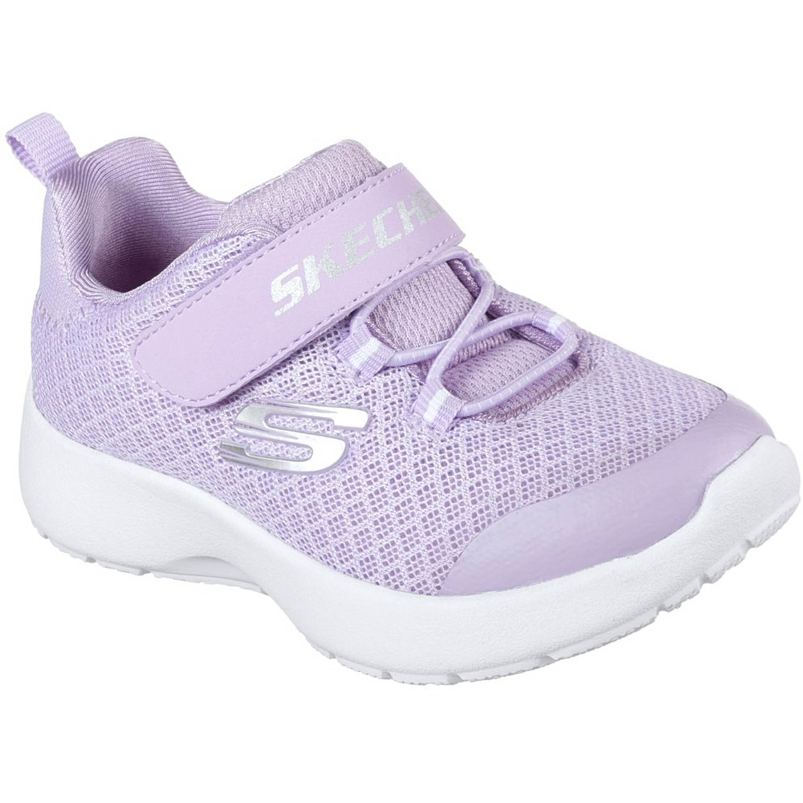 a19dbd0aed9 Skechers Girls Rally Racer Mesh Gore Strap Sneakers