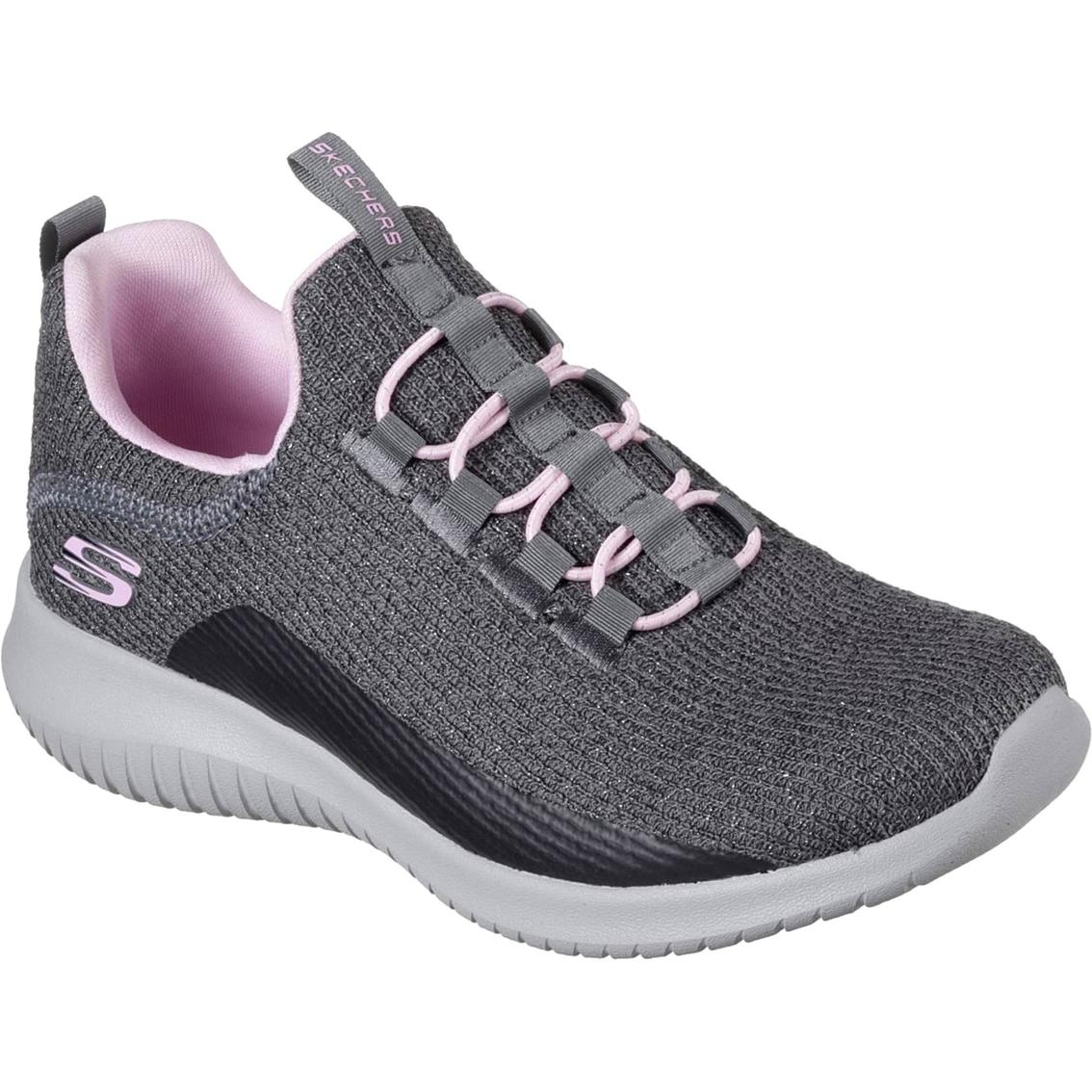 Skechers Girls Ultraflex Lace Sneakers