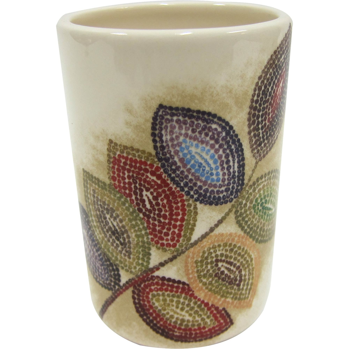 Croscill Mosaic Leaves Tumbler Bath Accessories Household Shop The Exchange