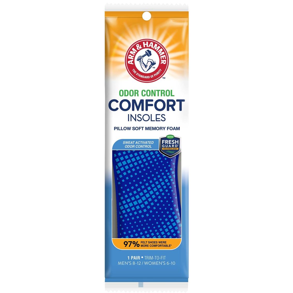 3b315f105d741 Arm & Hammer Memory Foam Comfort Insoles | Foot Care | Beauty ...