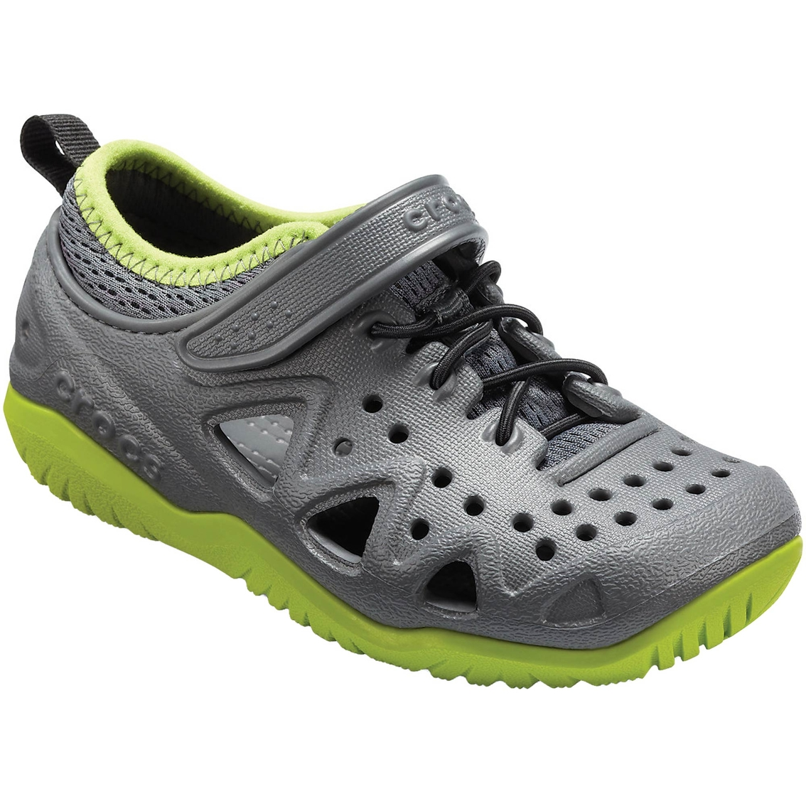 9f387bdaefd2 Crocs Boys Swiftwater Play Shoes