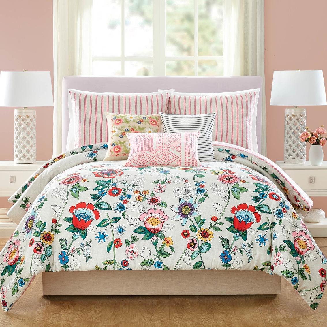 Floral Bedspreads And Comforters.Vera Bradley Coral Floral Comforter Set Bedding