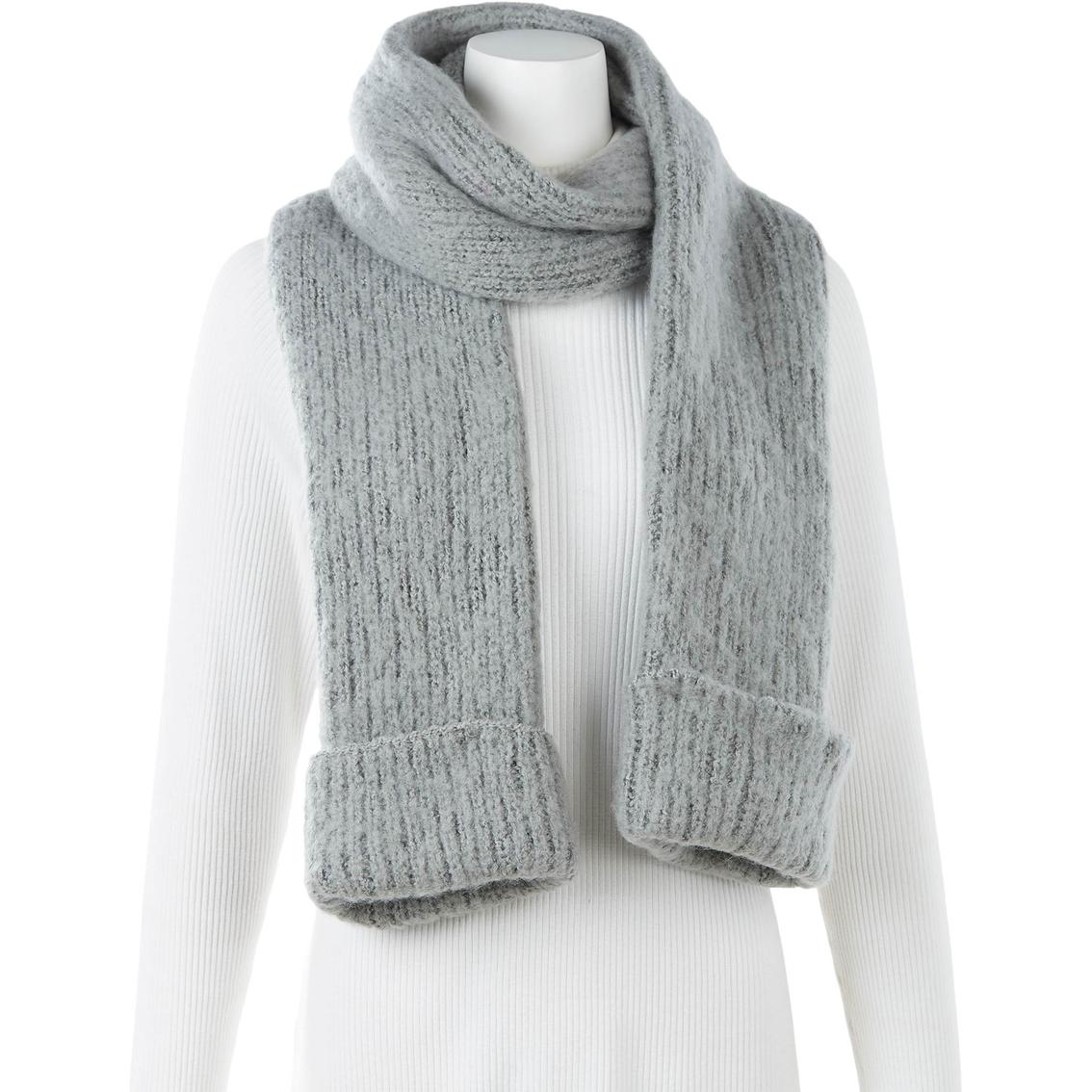 New York Accessory Cuffed Winter Scarf | Scarves & Gloves | Handbags ...