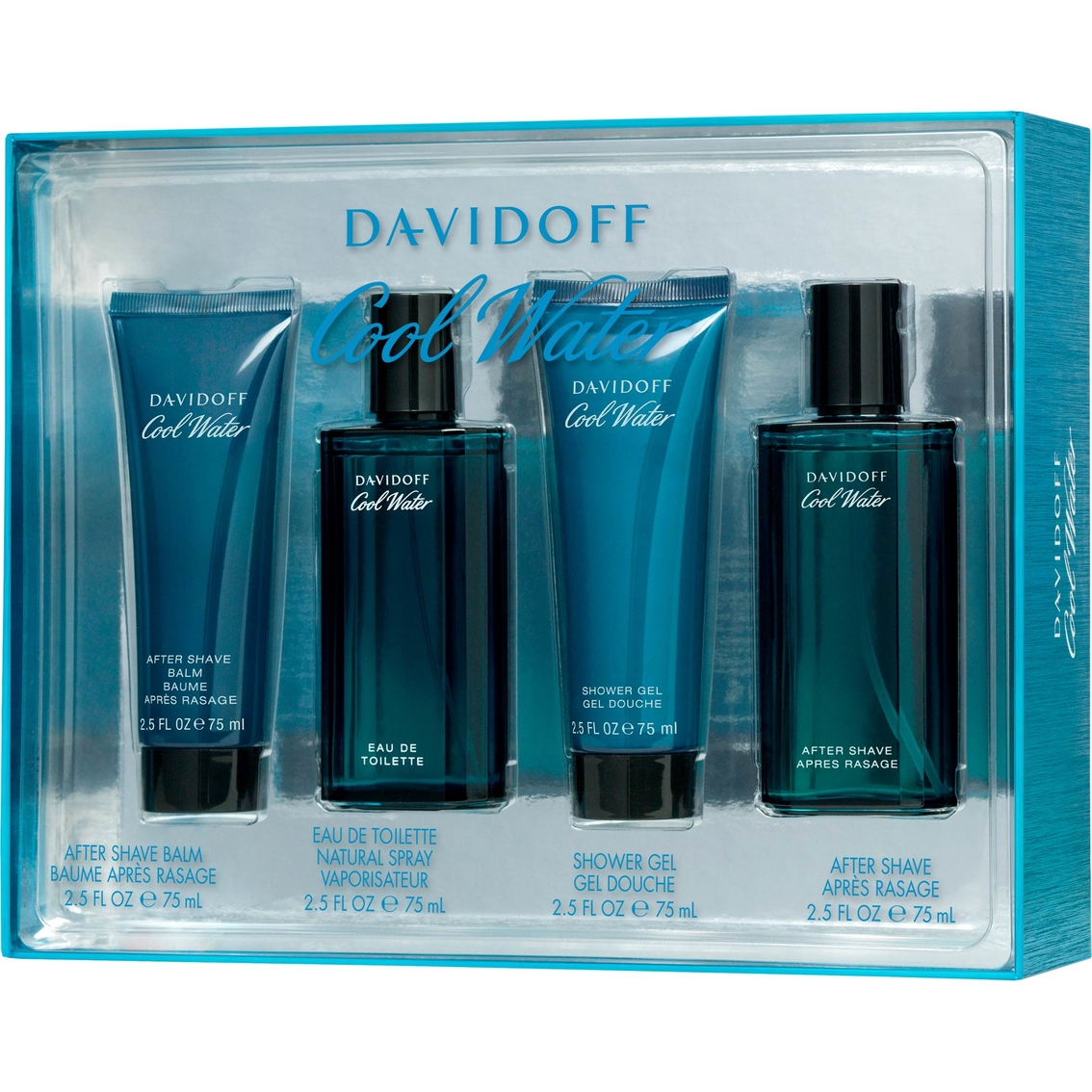 3527cd790d05 Davidoff Cool Water 4 Pc. Gift Set