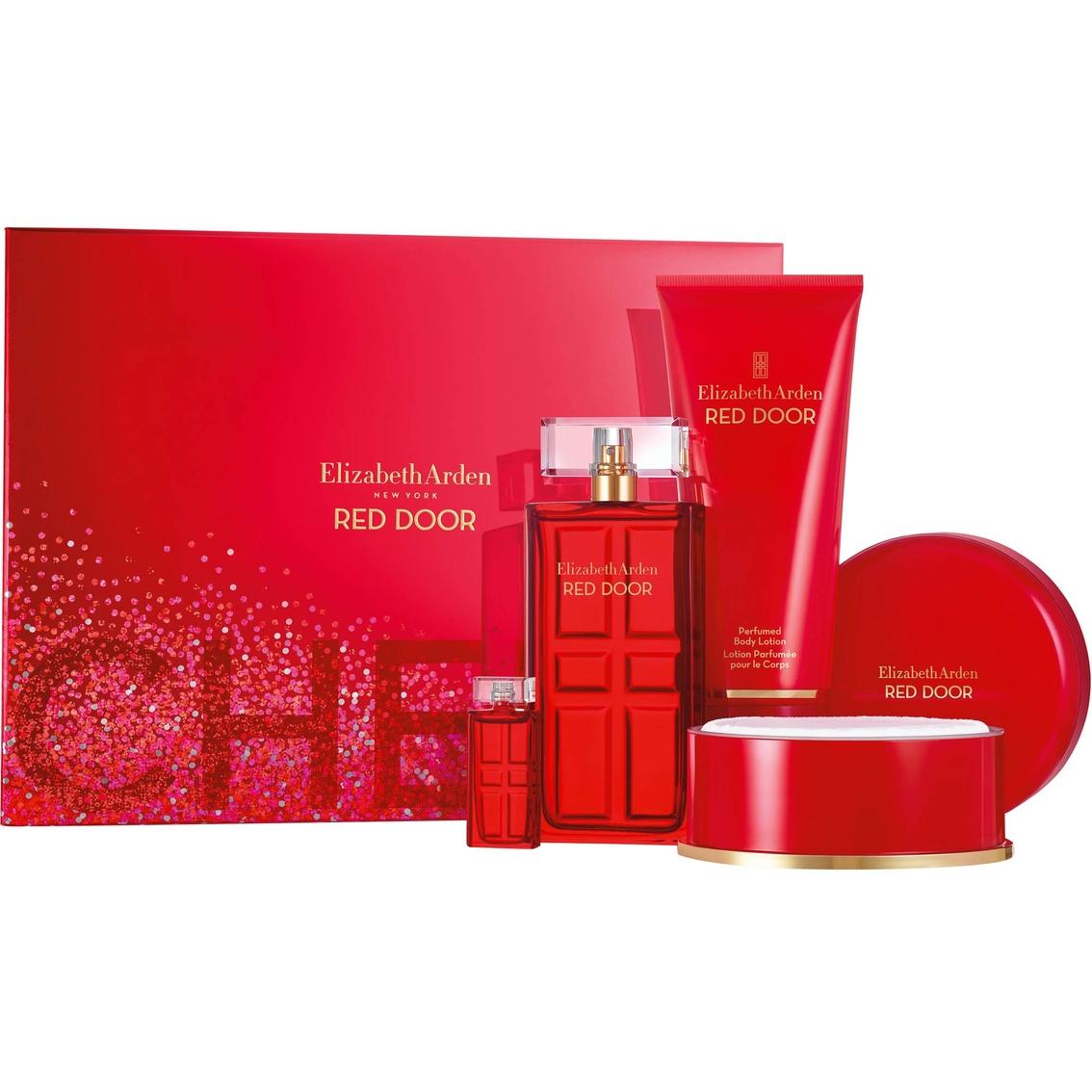 Elizabeth Arden Red Door 33 Oz Eau De Toilette Spray 4 Pc Gift