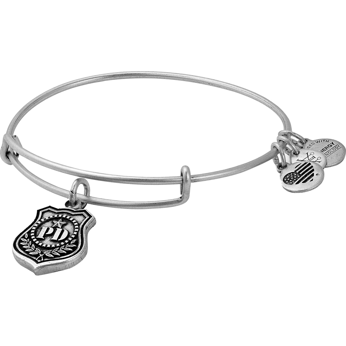 45b3f4d05ddac Alex And Ani Law Enforcement Charm Bangle Expandable Charm Bracelet ...