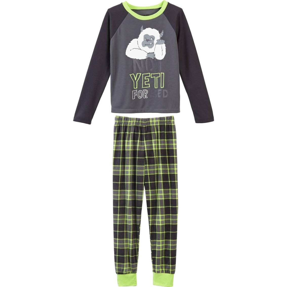 Komar Kids Little Boys 2 Pc. Yeti Pajama Set  035ff655b