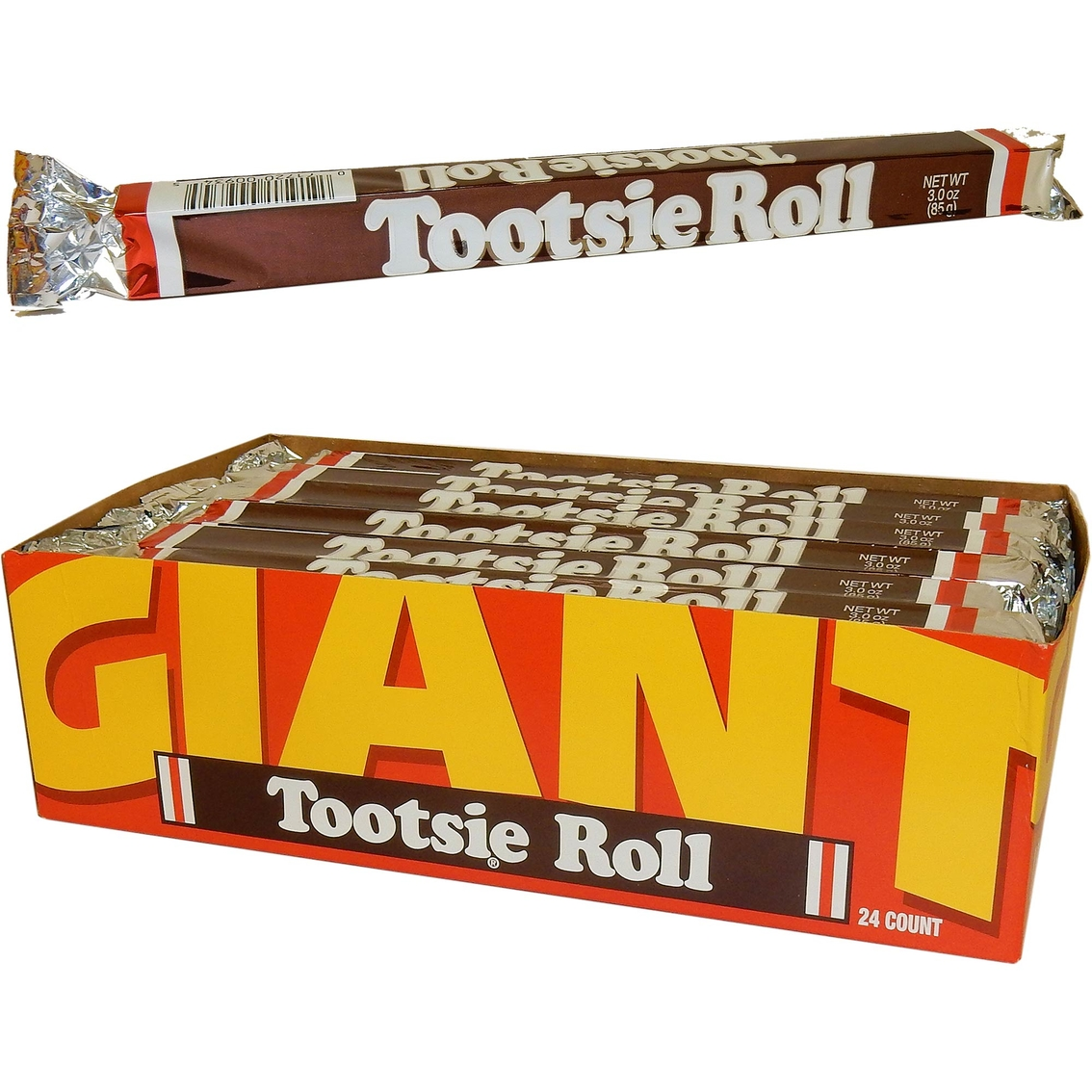 Tootsie Rolls Giant Size 24 Pk. | Candy