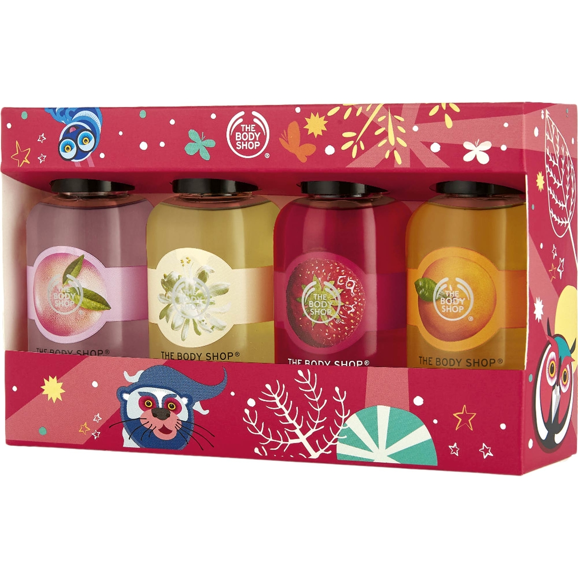 Christmas Gift Sets Body Shop.The Body Shop Shower Gel Collection 4 Pc Bath Shower