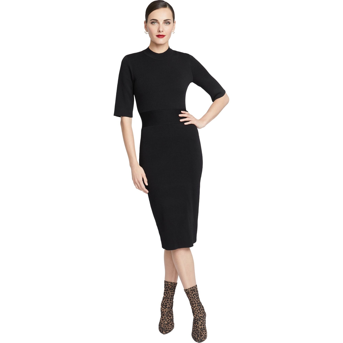 Rachel Roy Discount Gowns: Rachel Roy Megan Sweater Dress