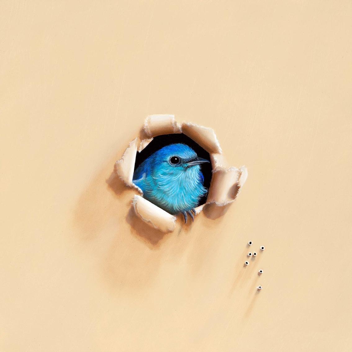 Greenbox Art 14 X 14 Trespasser Song Sung Blue Canvas Wall Art ...