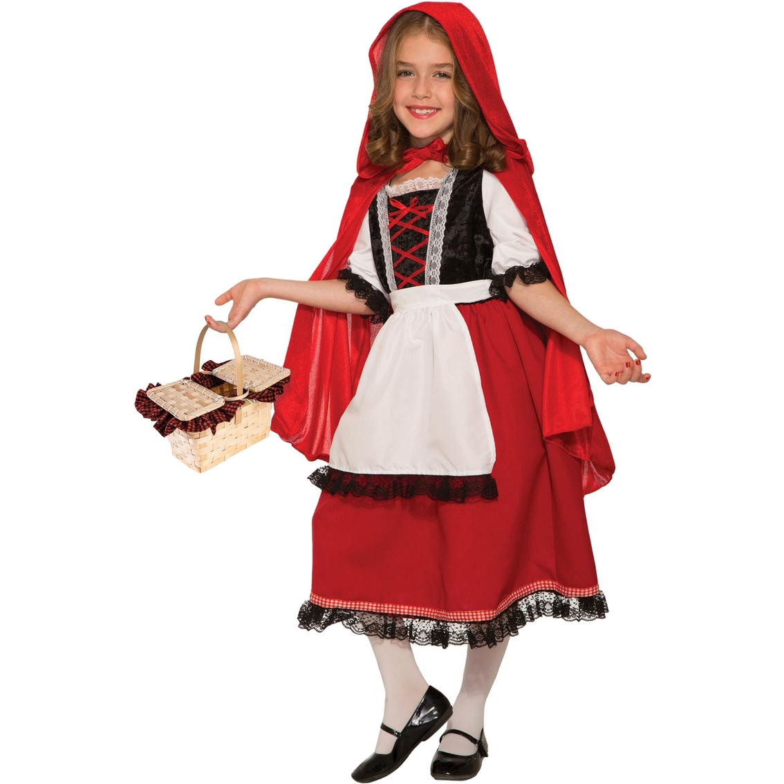 767e1680e6 Forum Novelties Little Girls   Girls Deluxe Red Riding Hood Costume ...