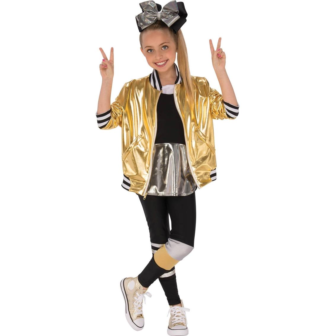 764ef4bce1d0 Rubie s Costume Little Girls   Girls Jojo Siwa Dancer Outfit Costume ...