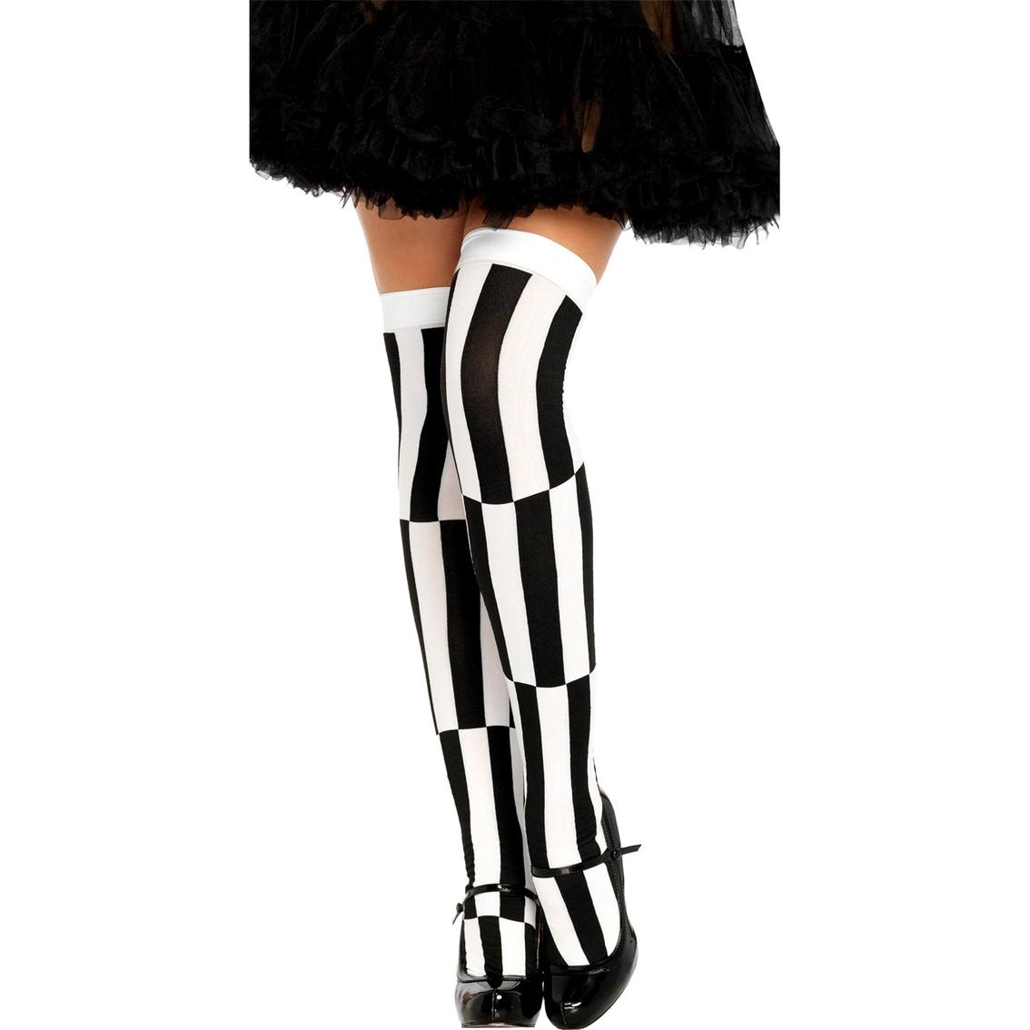 Leg Avenue Womens Optical Illusion Tights
