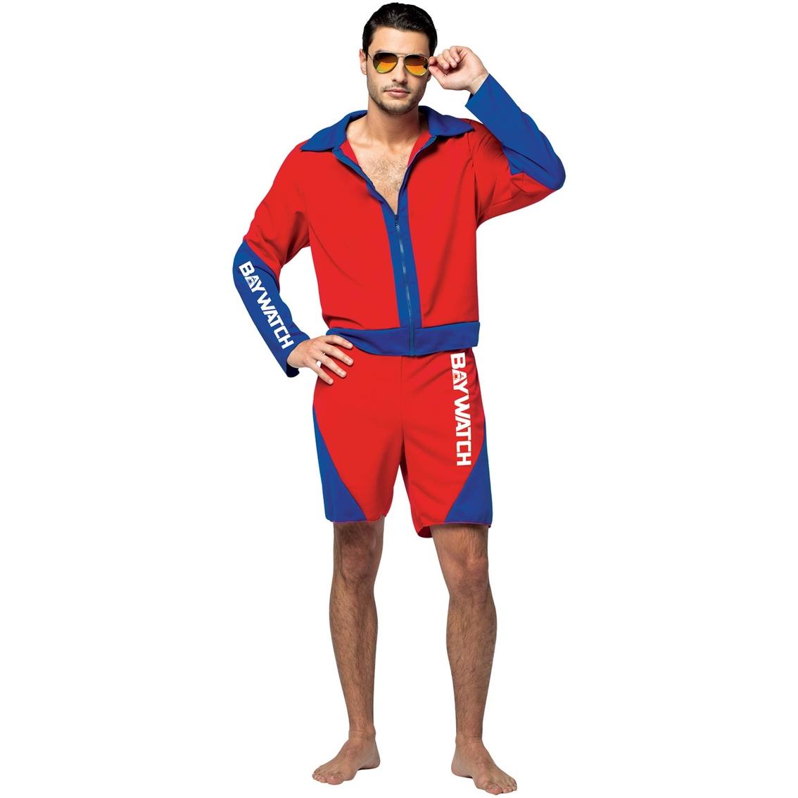 4e9af27ed143 Rasta Imposta Men's Baywatch Male Lifeguard Suit Costume | Men's ...