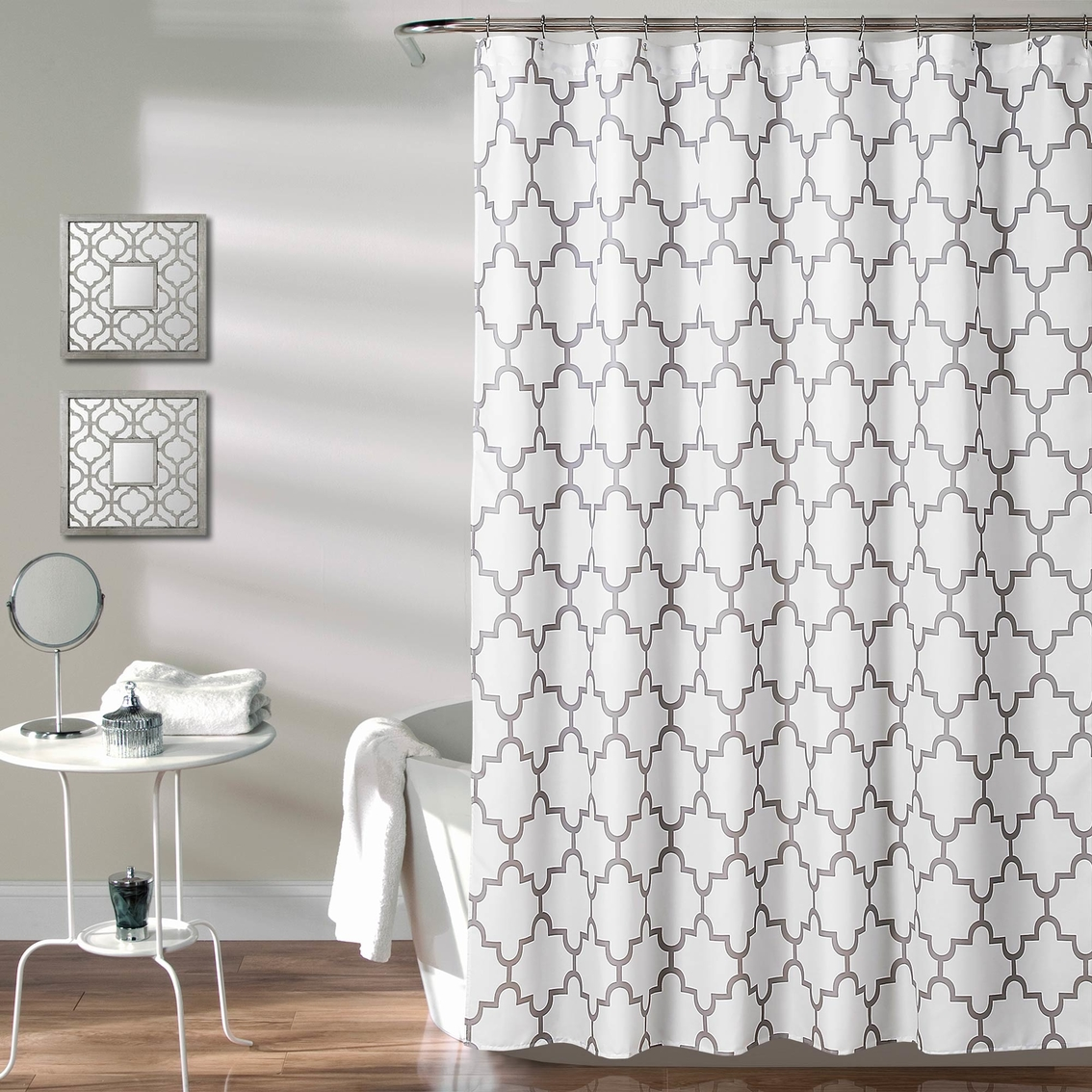 Lush Decor Bellagio 72 X In Single Shower Curtain